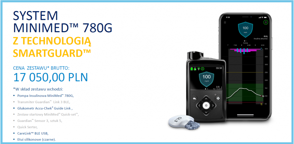 Cena pompy MiniMed 780g - oferta 4