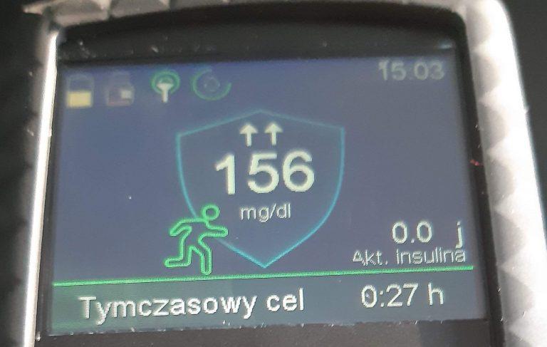 Trening po jedzeniu -insulina w trakcie wysiłku – 780g