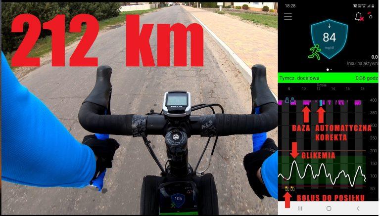 9 godzin jazdy na rowerze na automacie 780g (212 km)
