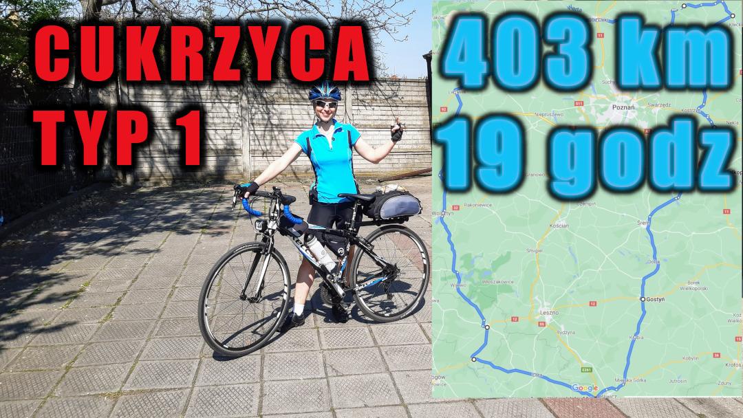 403 km na rowerze w 19 godzin