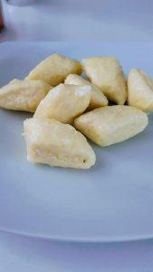 """Pierogi leniwe - """"trudny posiłek"""" dla cukrzyków ;) (33 WW na 100 g)"""